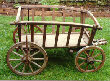[Unrestored handcart]